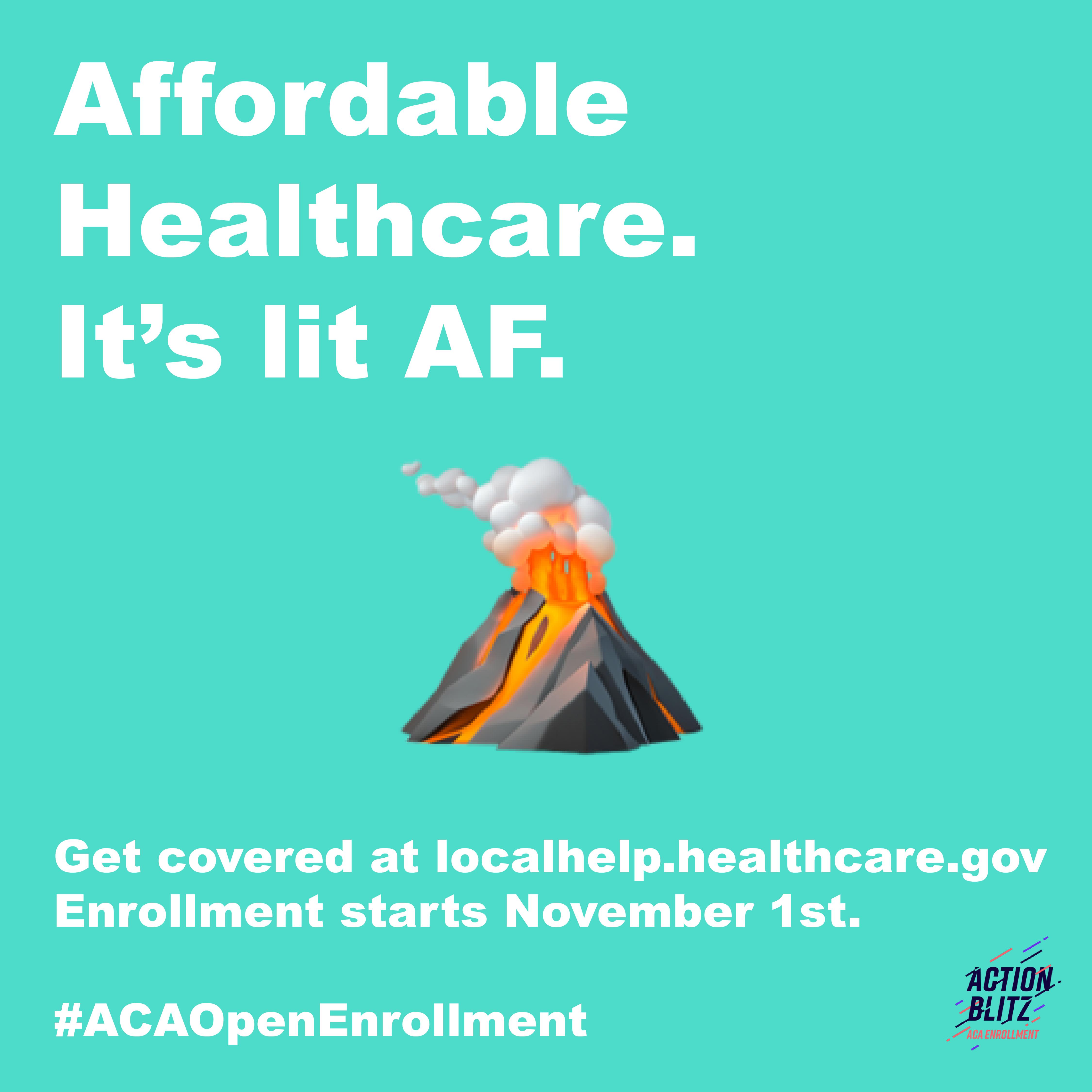 Instagram ACA Enrollment Emoji Campaign