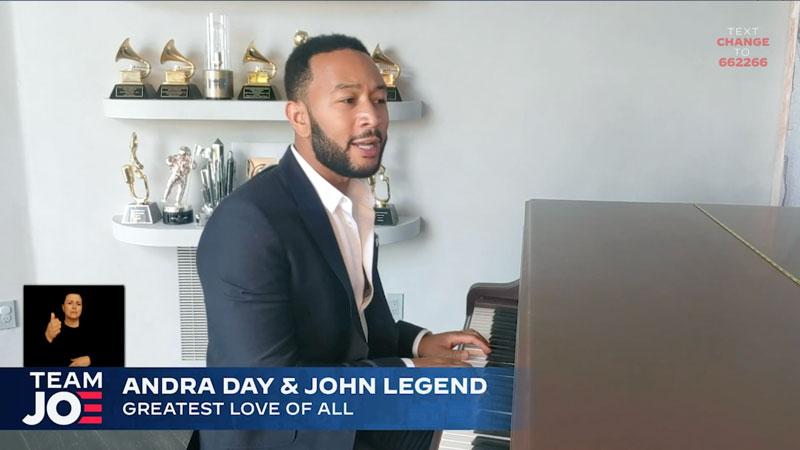 john legend in livestream
